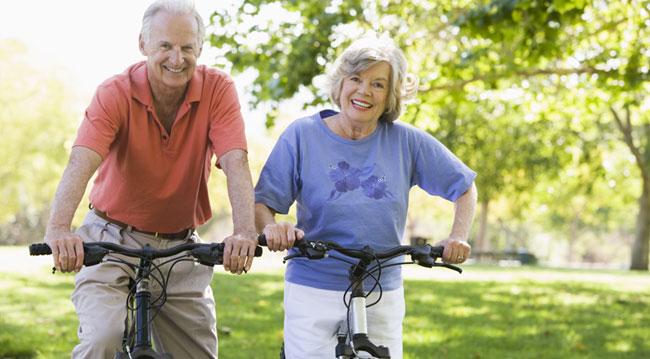 Vélo couple exercice